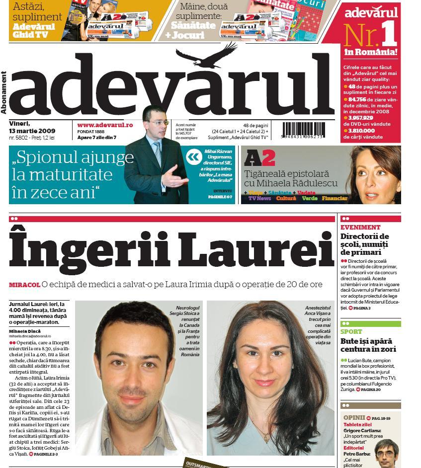 prima-pagina-adevarul-13-martie