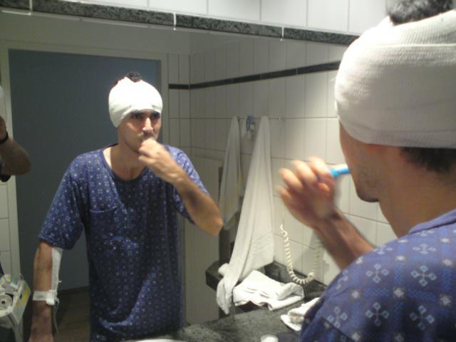 draagos la doua zile de la operatie