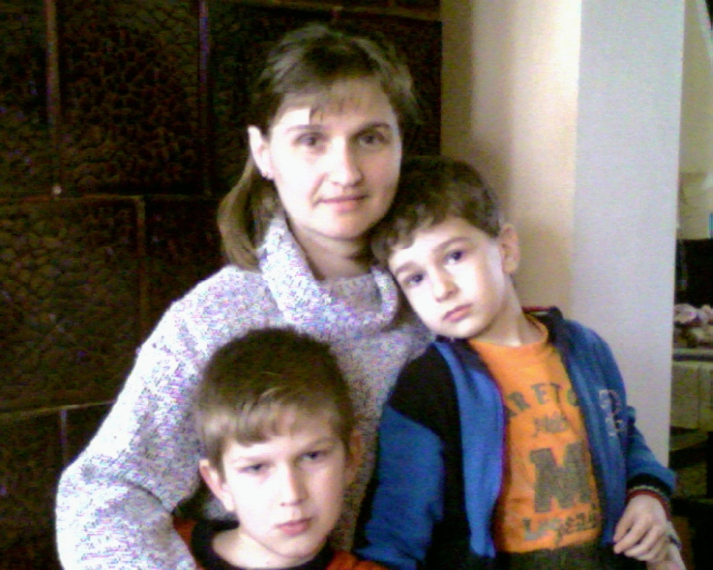 Dana si copiii