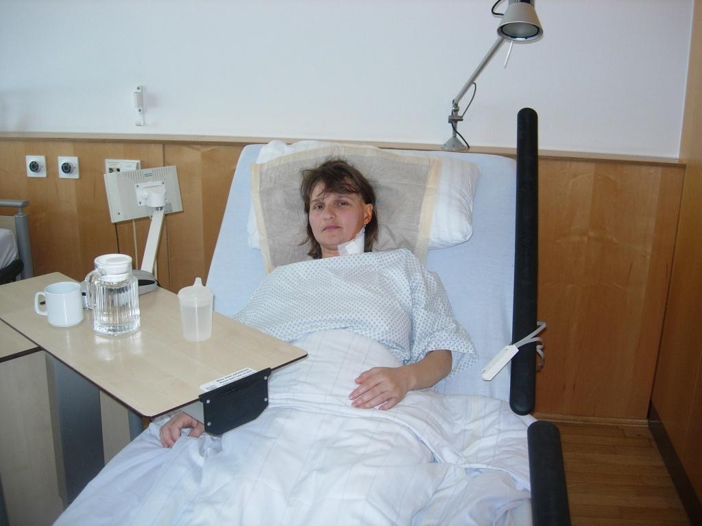 Dana in salon dupa operatie